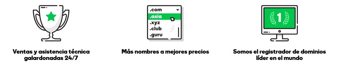 Productos Godaddy