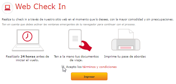 Check In Avianca